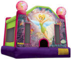 Tinkerbell Moon Bounce